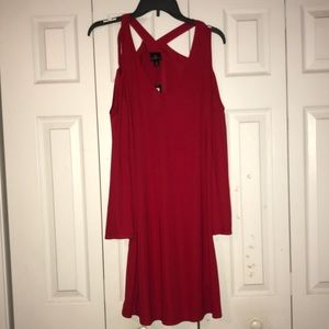 Red Semi-Formal Dress